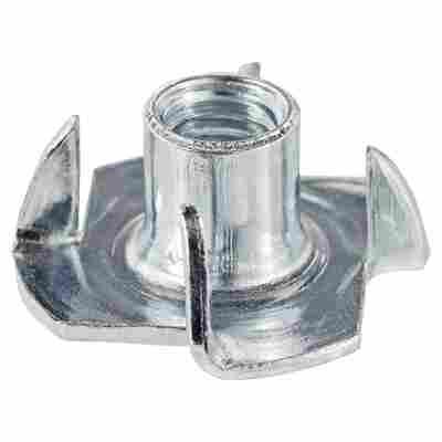 Einschlagmuttern M5 Stahl verzinkt 8 Stück