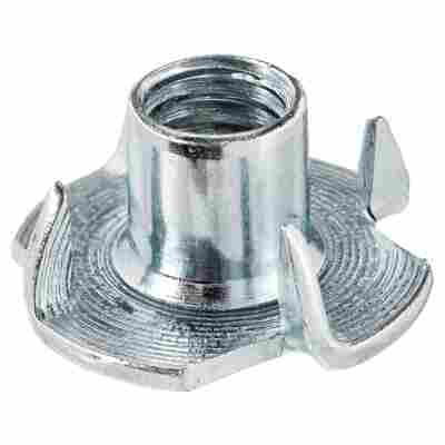 Einschlagmuttern M8 Stahl verzinkt 4 Stück