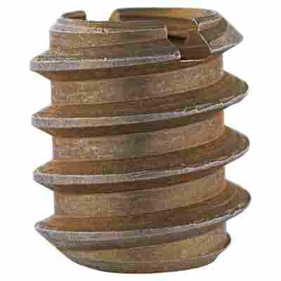Verbindungsmuffen Stahl 4 Stück M10 x 18 mm