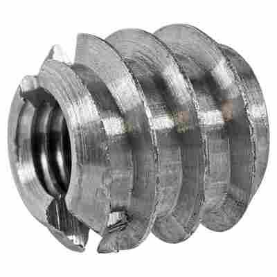 Verbindungsmuffen Stahl 4 Stück M5 x 10 mm