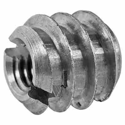 Verbindungsmuffen Stahl 4 Stück M6 x 12 mm