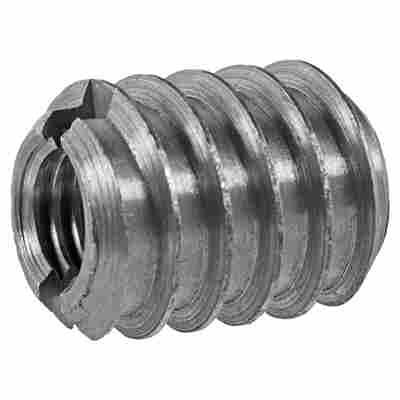 Verbindungsmuffen Stahl 4 Stück M8 x 18 mm
