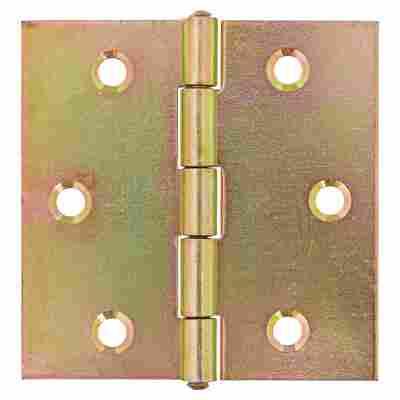 Scharnier Stahl verzinkt 60 x 60 mm