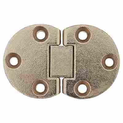 Klappenscharnier Nickel 55 x 35 mm