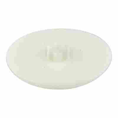 Abdeckkappen T25 Kunststoff weiß Ø 5 mm 30 Stück
