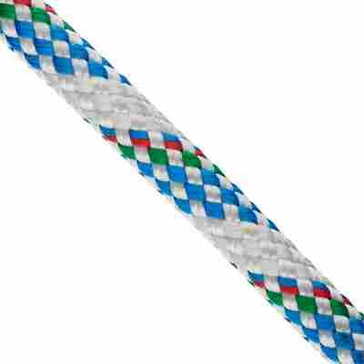 """Schot """"Atlantik Plus"""" Meterware weiß/blau Ø 12 mm"""