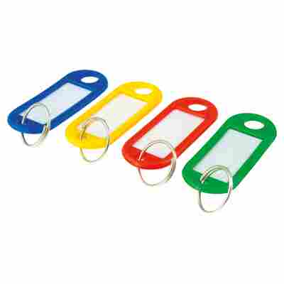 Schlüsselanhänger verschiedenfarbig Farben 20 Stück
