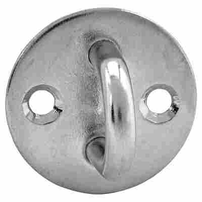 Augplatte Edelstahl Ø 5 mm