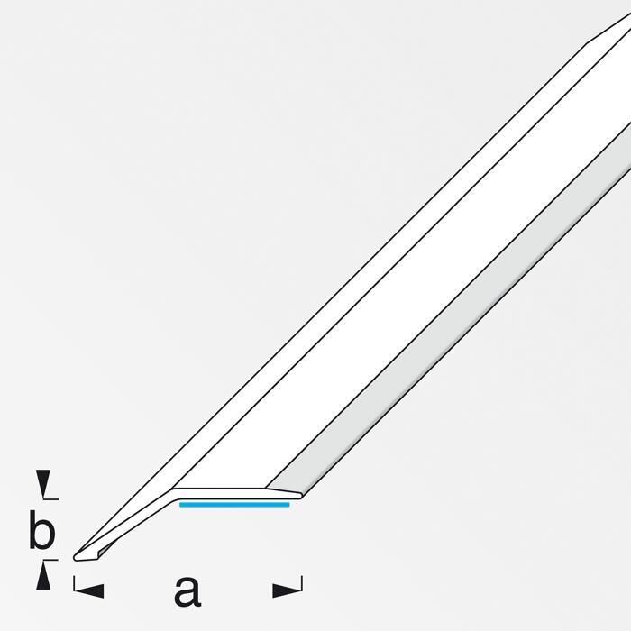 Pvc Ausgleichsprofil Buchefarben 1000 X 34 Mm ǀ Toom Baumarkt