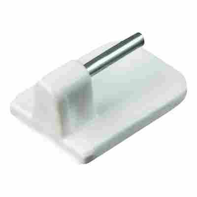 Vitragenhaken Kunststoff 24 mm 4 Stück