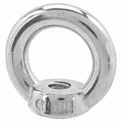 Seilflechter Ringmutter Edelstahl A4 M10 Ø 30 mm