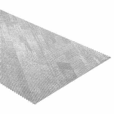 Streckmetall Aluminium 100 x 30 x 0,08 cm