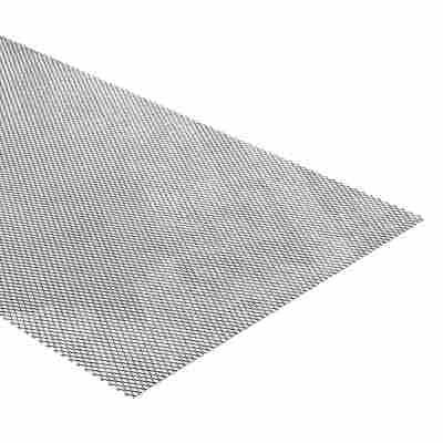 Streckmetall Stahl 100 x 20 cm