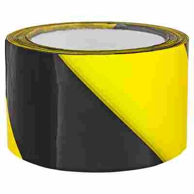 Absperrband gelb-schwarz 66 m