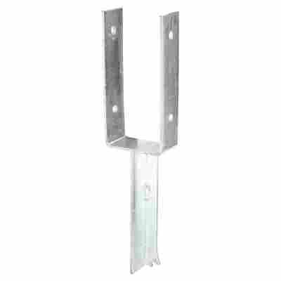 Schwerer U-Pfostenträger aus Stahl 5 x 9,1 x 40 cm