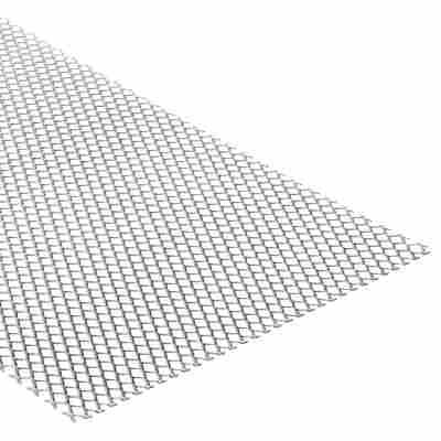 Streckmetall Stahl 25 x 50 cm