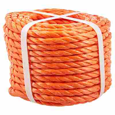 Seil Polypropylen orange 8 mm x 20 m