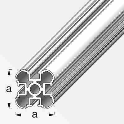 Säulenprofil Coaxis® Aluminium 250 x 3,55 cm