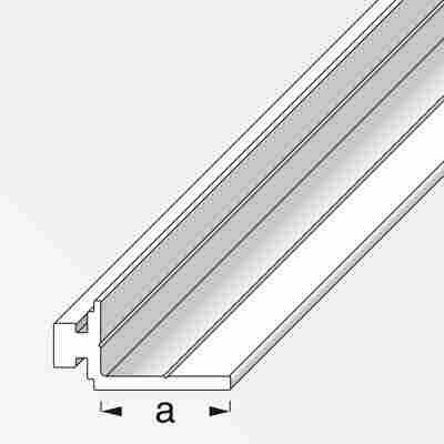 Auflageprofil Coaxis® Aluminium 100 x 2,35 cm