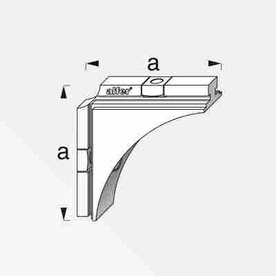 Verbindungswinkel Coaxis® 48,5 x 48,5 mm 2 Stück