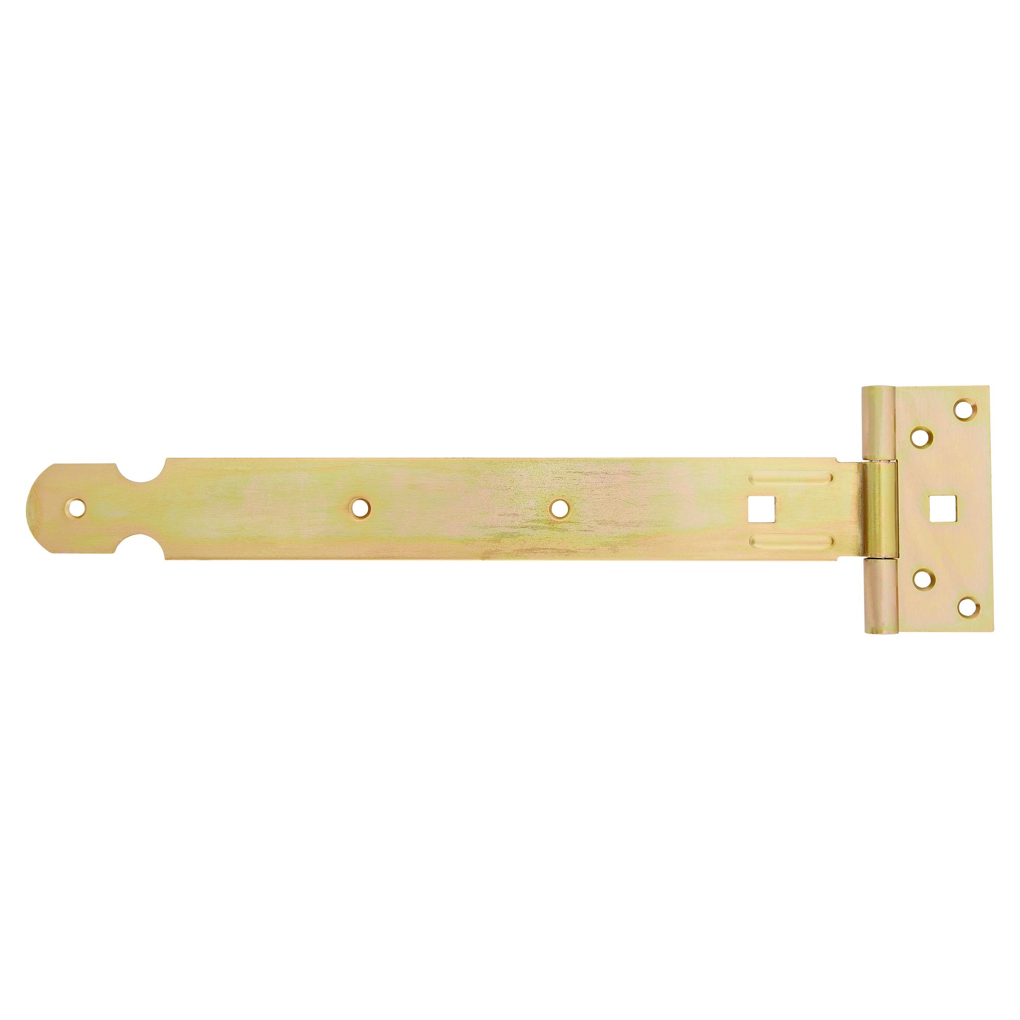 kreuzgehänge edelstahl gelb verzinkt, 300 x 36 x 47 x 2 mm ǀ toom