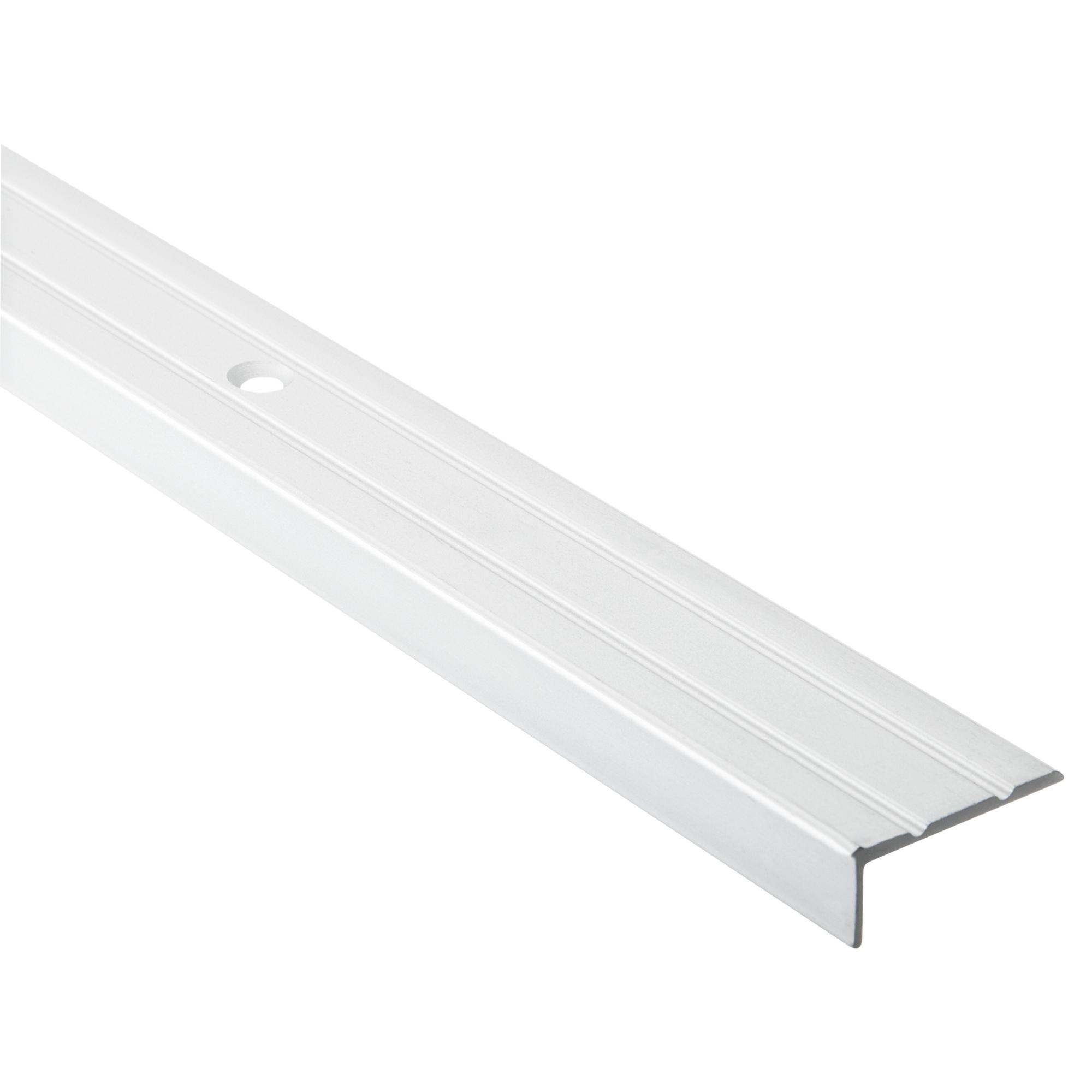 🥇 8,8 € Alfer Abschlussprofil Aluminium silber 8 x 8 mm