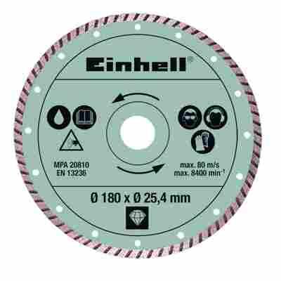 Diamant-Trennscheibe 'Turbo' 180 x 25,4 mm