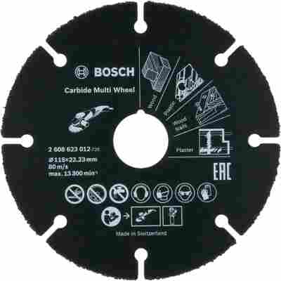 Trennscheibe 'PRO Carbide Multi Wheel' Ø 115 x 22,23 mm