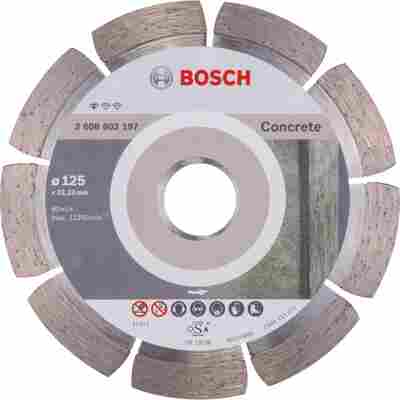 Diamanttrennscheibe 'PRO Standard for Concrete' Ø 125 x 22,23 mm