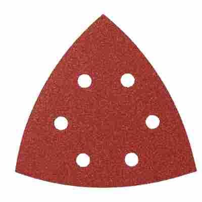 Deltaschleifblätter Klett 105 mm G120