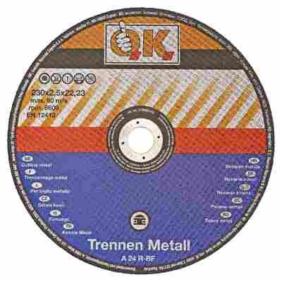 Trennscheiben für Metalle A24R-BF 5 Stück