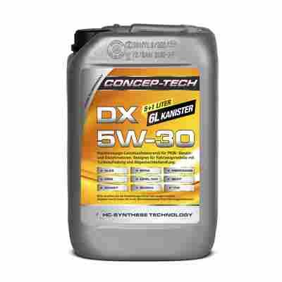 Hochleistungs-Leichtlaufmotorenöl DX 5W-60, 6 Liter