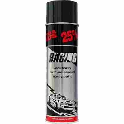 Autolackspray 'Racing' schwarz glänzend 500 ml