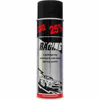 Autolackspray 'Racing' schwarz matt 500 ml