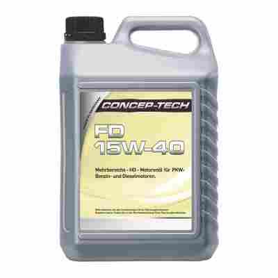 Mehrbereichs-Motorenöl FD 15W-40, 5 l