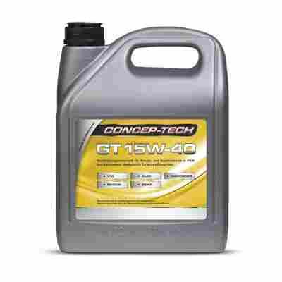 Hochleistungs-Motorenöl GT 15W-40, 5 l