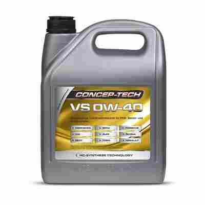 Hochleistungs-Leichtlaufmotorenöl VS 0W-40, 5 l