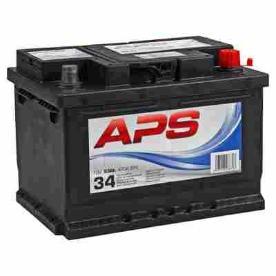 Autobatterie 12 V 53 Ah