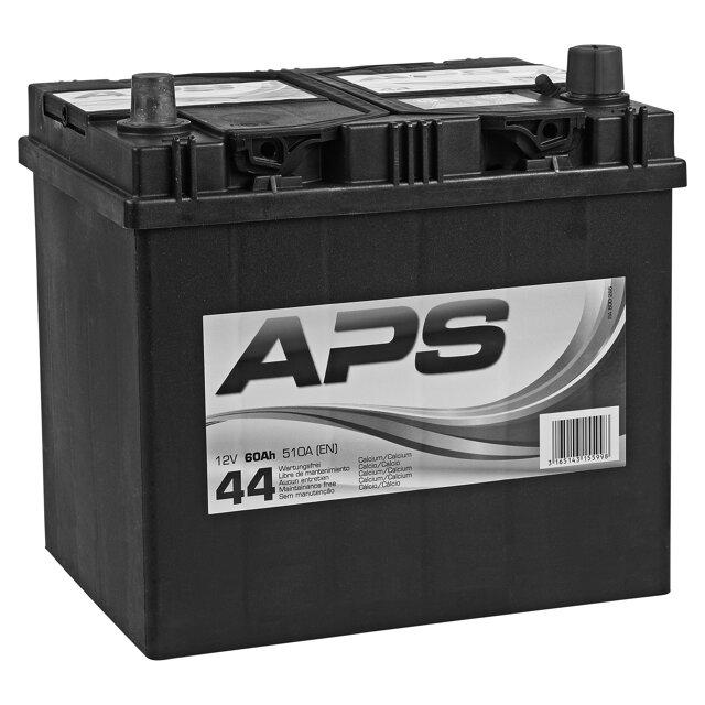 aps autobatterie 12 v 60 ah toom baumarkt. Black Bedroom Furniture Sets. Home Design Ideas