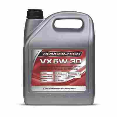 Hochleistungs-Leichtlaufmotorenöl VX 5W-30, 5 l