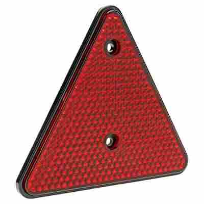 Dreieckrückstrahler rot