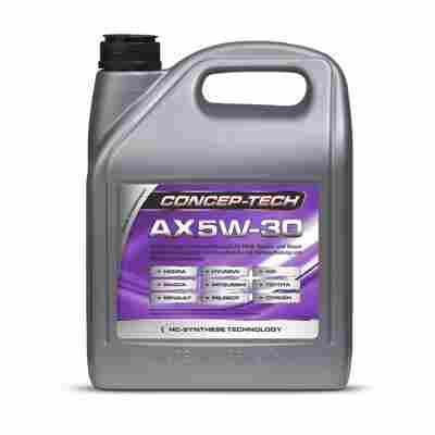 Hochleistungs-Leichtlaufmotorenöl AX 5W-30, 5 l