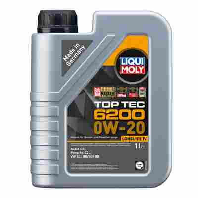 Leichtlauf-Motoröl 'Top Tec 6200 0W-20' 1 l