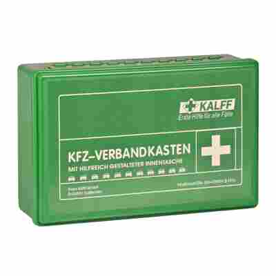 KFZ-Verbandkasten grün