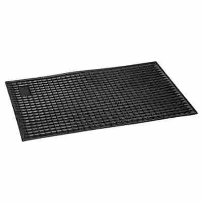 UniTec Auto-Wabenmatte, schwarz, 42 x 29 cm
