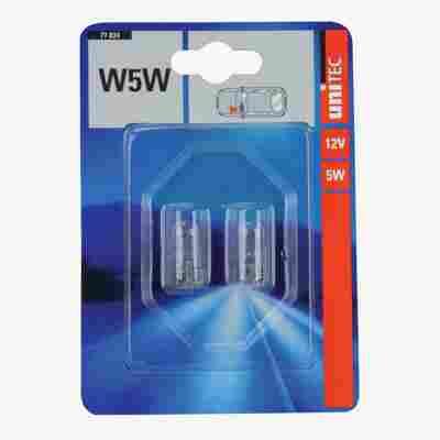 Glassockellampe W5W 2 Stück