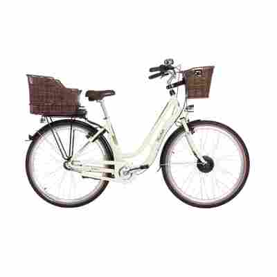 City e-bike 'Retro ER 1804-S1' 28 Zoll creme