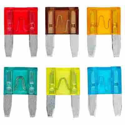 Mini-Flachstecksicherungen 6 Stück