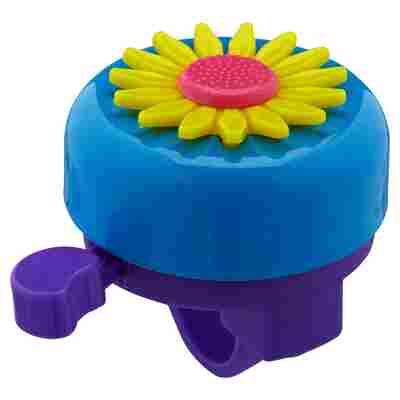 Fahrradglocke mit Kunststoffblume