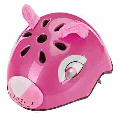 Fahrradhelm 'Bär' pink 50-54 cm